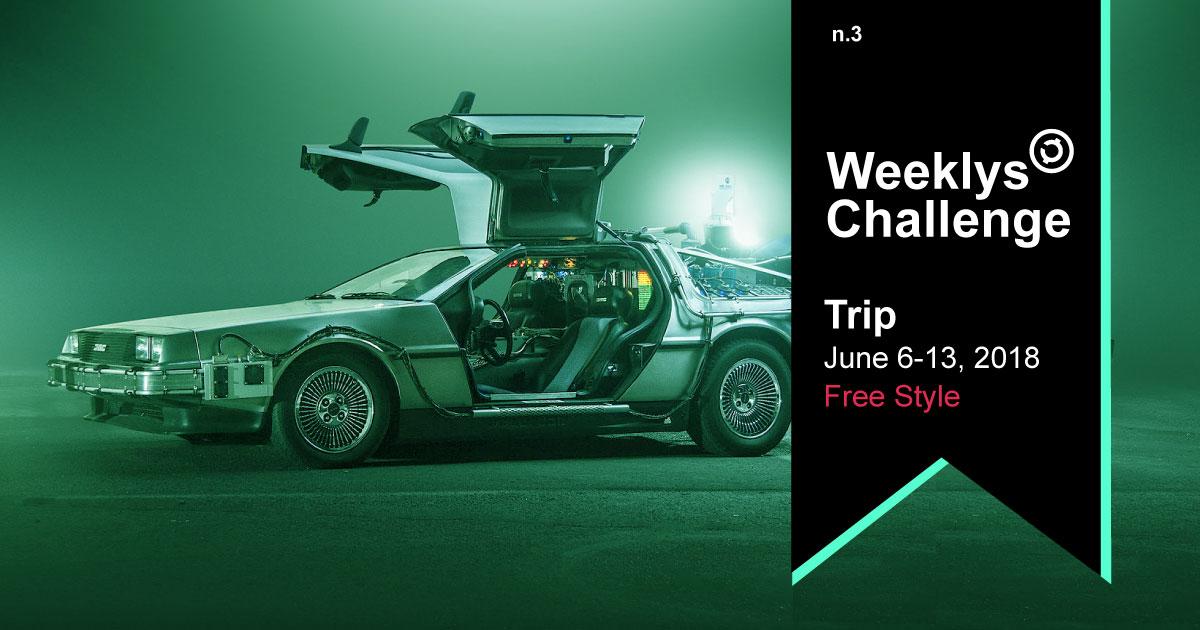 trip weeklys CREAtivechain